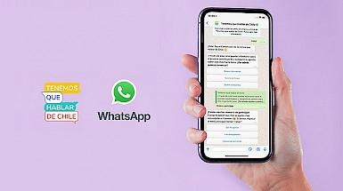 Tenemos que Hablar de Chile canal de WhatsApp