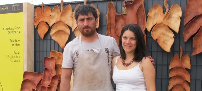 Egon Muñoz y Arna Marchant