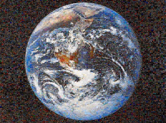 'Googlegramas' - Mundo (Món / Mundo © Joan Fontcuberta 2005)