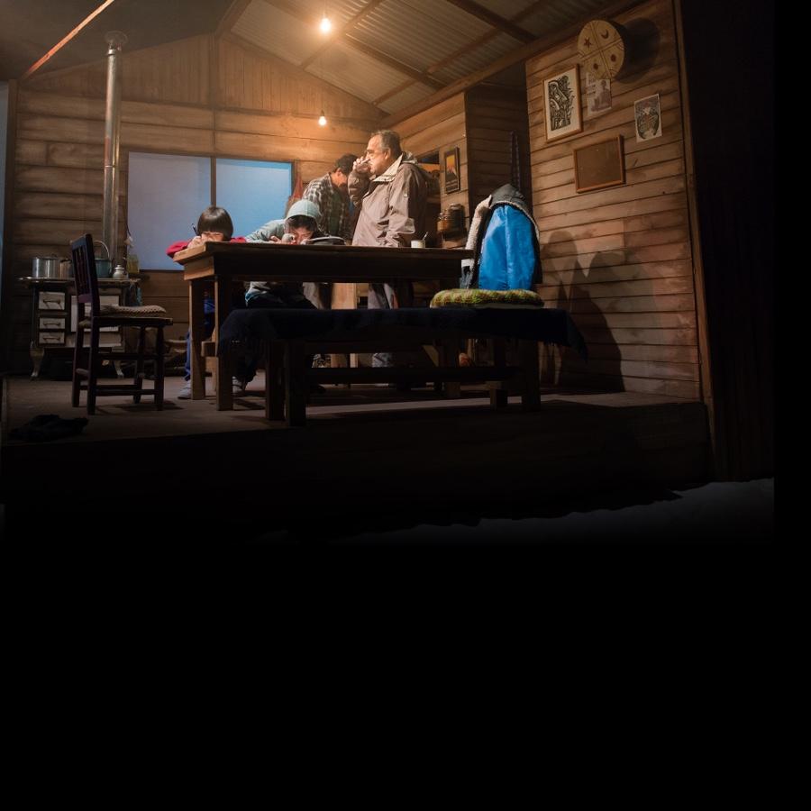 Trewa. Imagen de la Obra de teatro coproducida junto a KIMVN Teatro